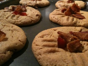 Bacon, Peanut Butter Cookies