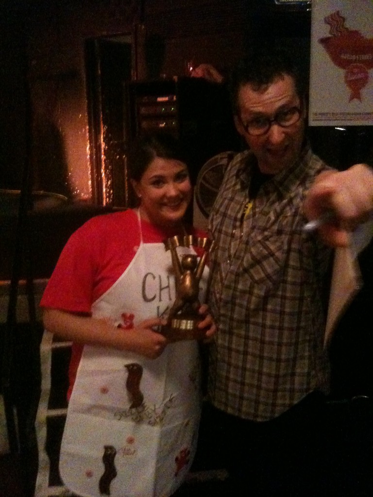 Kristen Olson - Winner of the 2010 - Twin Cities Bacon Takedown