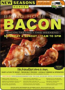 Bring Home The Bacon Tasting